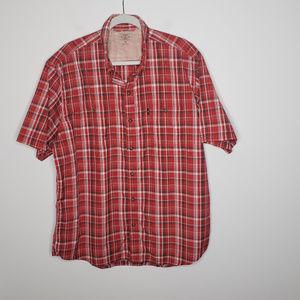 G.H. Bass for Hard Service Plaid Button Shirt